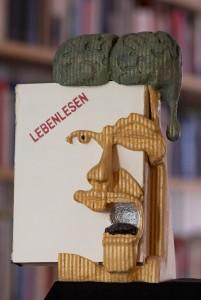 LebenLesen-Skulptur#GerhardOchsenfeld